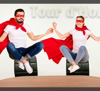 Un bureau pour les supers héros : Horizon notaires